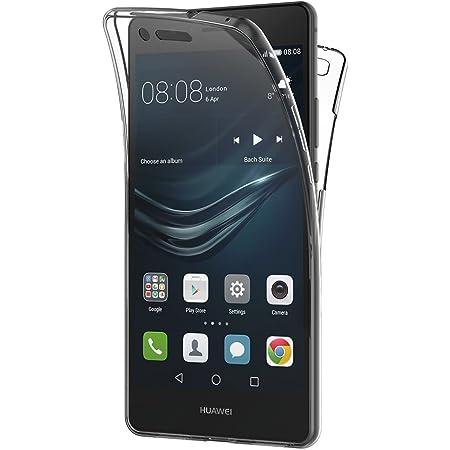 Aicek Huawei P9 Lite Hülle 360 Full Body Transparent Elektronik