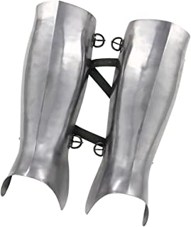 Ancient Greek Hoplite Greaves Protective Medieval 16g Functional Leg Armor