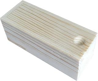 Monbedos 1 boîte de rangement en bois uni - Petite boîte de rangement - Convient pour le rangement des colliers, boucles ...