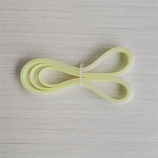 Wnuanjun 2 delar 9 tum bandsåg gummiband. Gummiring för 1570/1575 mm bandsåg rullhjul. (Scrollhjulets diameter 230 mm, bre...