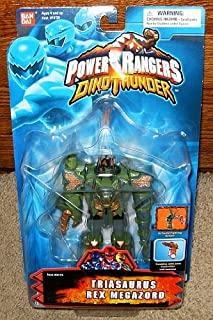Power Rangers Dino Thunder Triasaurus Rex Megazord Action Figure