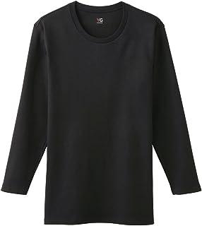[グンゼ] インナーシャツ YG Cotton 100% シリーズ ダブルホット クルーネック9分袖 YV0208N メンズ