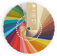 Compact Color Swatch Fan Warm Autumn with 35 Colors for Color Analysis and Image Consulting