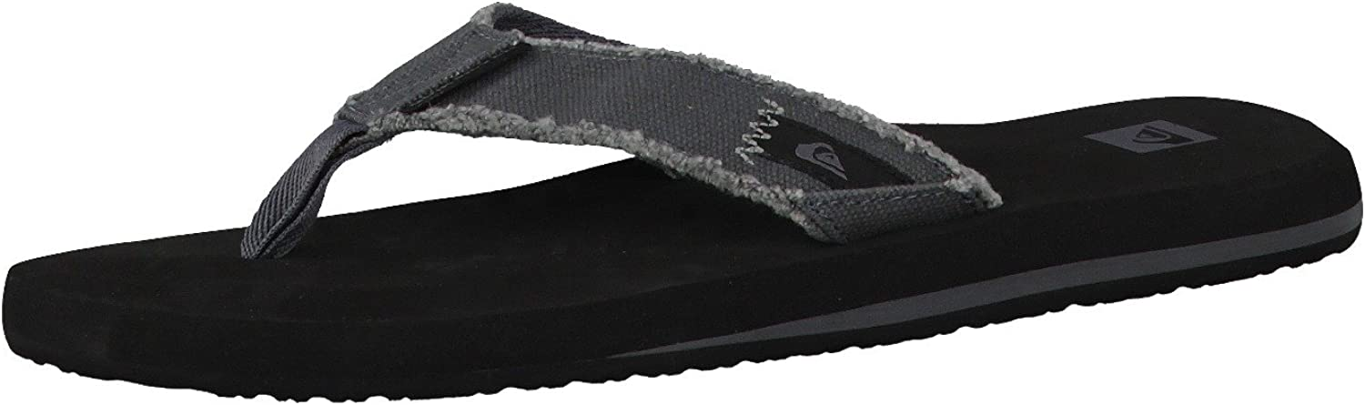 New supreme sales Quiksilver Men's Monkey Sandal Three-Point Abyss