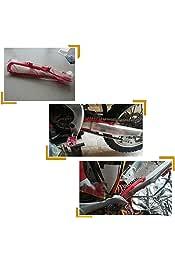Color Rojo S3 Peine de Cadena A-Style