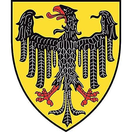 U24 Aufkleber Aachen Wappen Autoaufkleber Sticker Konturschnitt Auto