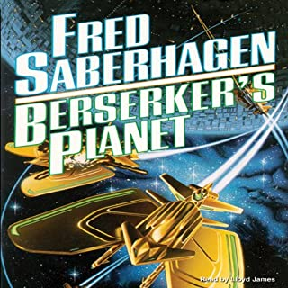 Berserker's Planet audiobook cover art