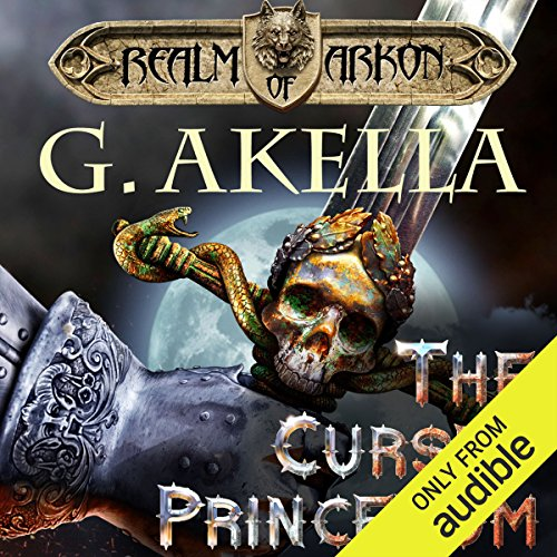 The Cursed Princedom audiobook cover art