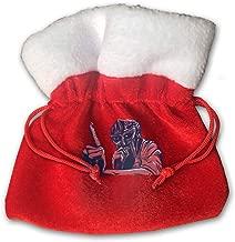 JiuLofg MF Doom Winter Christmas Holiday Drawstring Gift Bags Velvet Gift Bag Red - 5.9x5.9inch/15x15cm