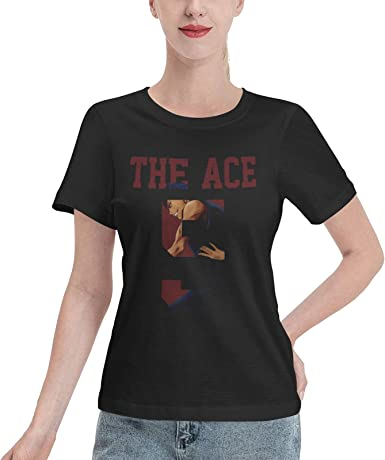 EricDCarl Kuroko's Basketball Daiki Aomine Short Sleeve T-Shirts Female Round Neck Tops Summer Tee Breathability T Shirt