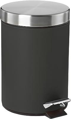 ゾーン(Zone) ペダル式ゴミ箱 ブラック 17×H:25cm 3L ぺダルビン SOFT 330531