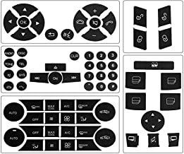 Button Repair Package Steering AC Window Decals Stickers for 2007 2008 2009 2010 2011 2012 2013 2014 Mercedes Benz