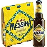 Birra Messina Ricetta Classica | Lager Artigianale Siciliana | 24 Bottiglie 33Cl | Idea Regalo