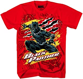 Black Panther Boys' Panther Party Tee, Red
