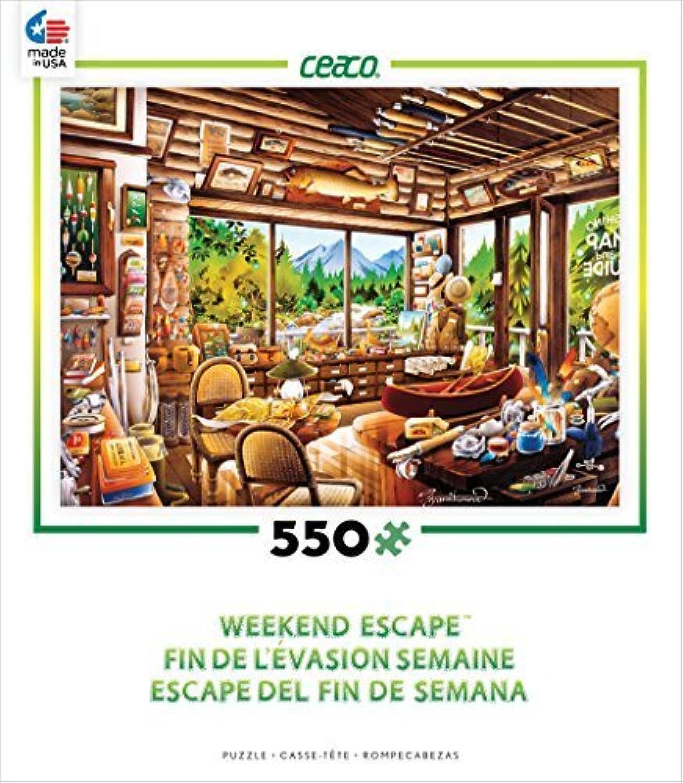 bienvenido a comprar Ceaco Weekend Escape - Fishing Map Map Map and Guide Shop Puzzle by Ceaco  mejor oferta