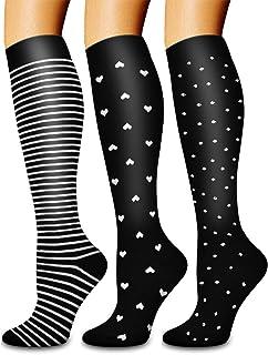Laite Hebe Copper Compression Socks for Men & Women- Best for Running,Hiking,Athletic,Pregnancy,Travel