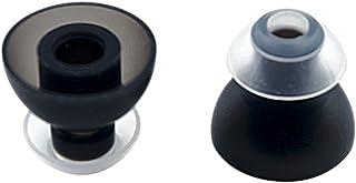 カナル型イヤホン用 TwinBlade(ダブルフランジ) シリコンイヤーチップ SpinFit Sサイズ 2個入り