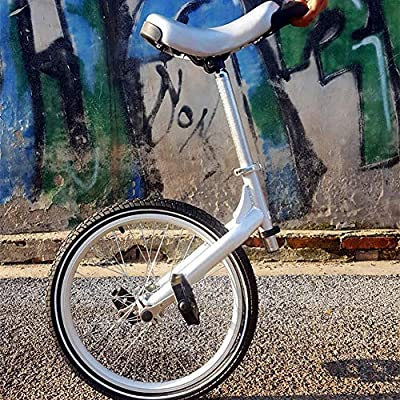 LJHHH Unicycle,Intelligent Balance Drift Car Thinking Somatosensory Scooter,Outdoor One Wheel Self Balance Unicycle Single Wheel Scooter,Silver