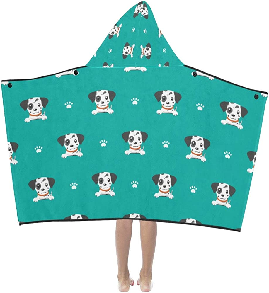 Minneapolis Mall VvxXvx Bath Towels for Baby Girl Cute Dog 4 years warranty Cartoon Pet Dalmatian