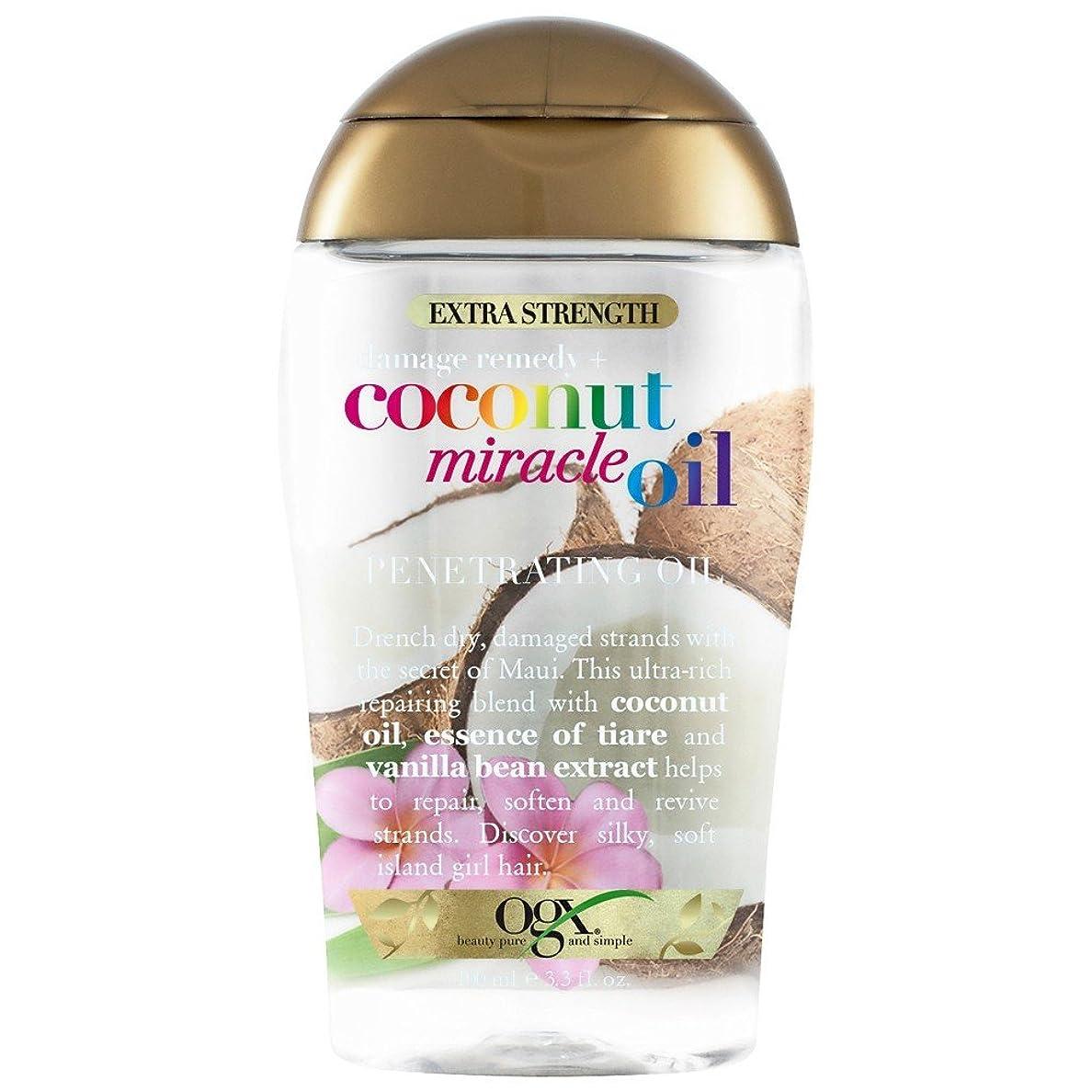 知人海上肉腫OGX Coconut miracle Oil, 100ml [並行輸入品]