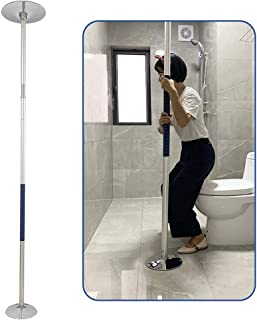 Transfer Pole Security Grab Bar Floor to Ceiling Pole Handicap Bed Assist Bar Mobility Pole Transfer Medical Stand Assist Safety Poles Bathroom Shower Support Assistance for Handicapped, Elderly