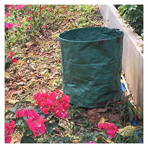 LSXIAO Bolsa De Jardín Resistente, Bote De Basura del Patio, 72 Galones Barril De Enzima De Fermentación Cubo De Fertilizante para Hojas De Plantas De Jardín, Cesta De Almacenamiento