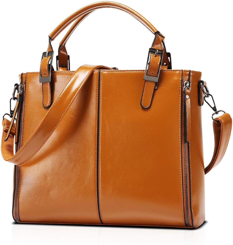 Niustore Damenhandtasche Crossbody-Tasche Mit Großer Kapazität (Braun) B07NVDT934  Geschäft Geschäft Geschäft 660d40