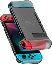 UGREEN Protective Case Compatible for Nintendo Switch 2017, Dockable Grip Case Cover Protector Accessories Anti-Scratch Sh...