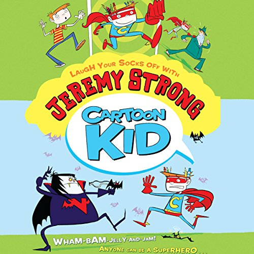 Cartoon Kid audiobook cover art