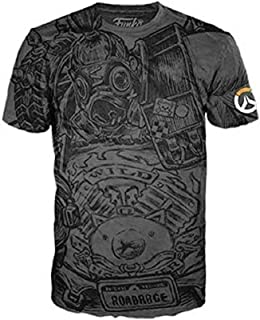 Funko Tee Overwatch Roadhog Road Hog Tshirt Size L Mens Large Black