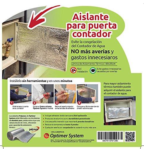 Aislante Puerta Contador Agua - 0,60 x 0,35 m Optim Home - Polynum