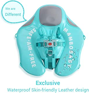 HECCEI Upgrade Baby Float for Infant Waist Swimming Ring Swim Trainer Life Vest Non-Inflatable Floats Toys with Adjustable Safety Strap (Mambo Fish)