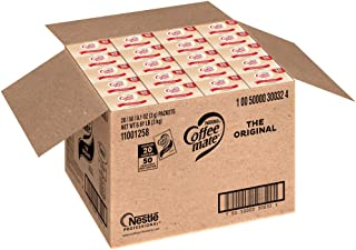 Nestle Coffee-mate Coffee Creamer, Original, 3g Powdered Packets, 50 ct (Pack of 20)