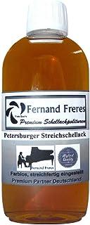 1 Liter Streichschellack Möbellack glänzend Isoliergrund Schellack Politur Lack