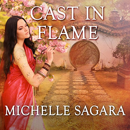 Cast in Flame audiobook cover art