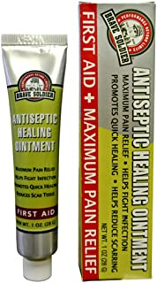 Brave Soldier Antiseptic Quick Healing Ointment with Tea Tree Oil,1 Ounce, Quick First AID with Botanical Blend for Natural Healing