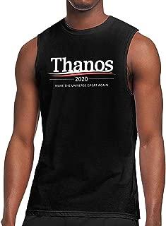 NIMASHINIMA Thano 2020 Make The Universe Great Again Mens Tank Top Jersey Training Tank
