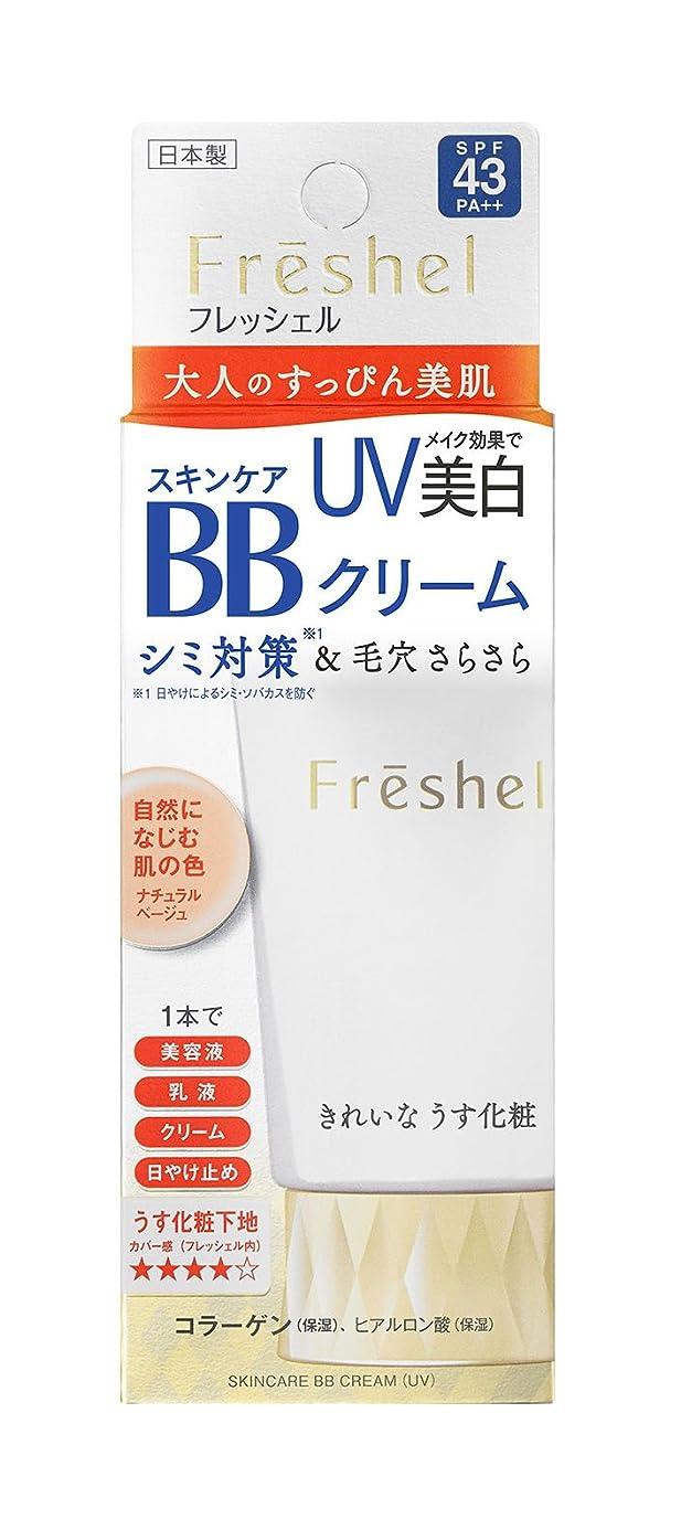 積極的に融合フィットフレッシェル BBクリーム スキンケアBBクリーム UV ナチュラルベージュ