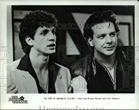 Historic Images - 1985 Press Photo Mickey Rourke and Eric Roberts in The Pope of Greenwich Village