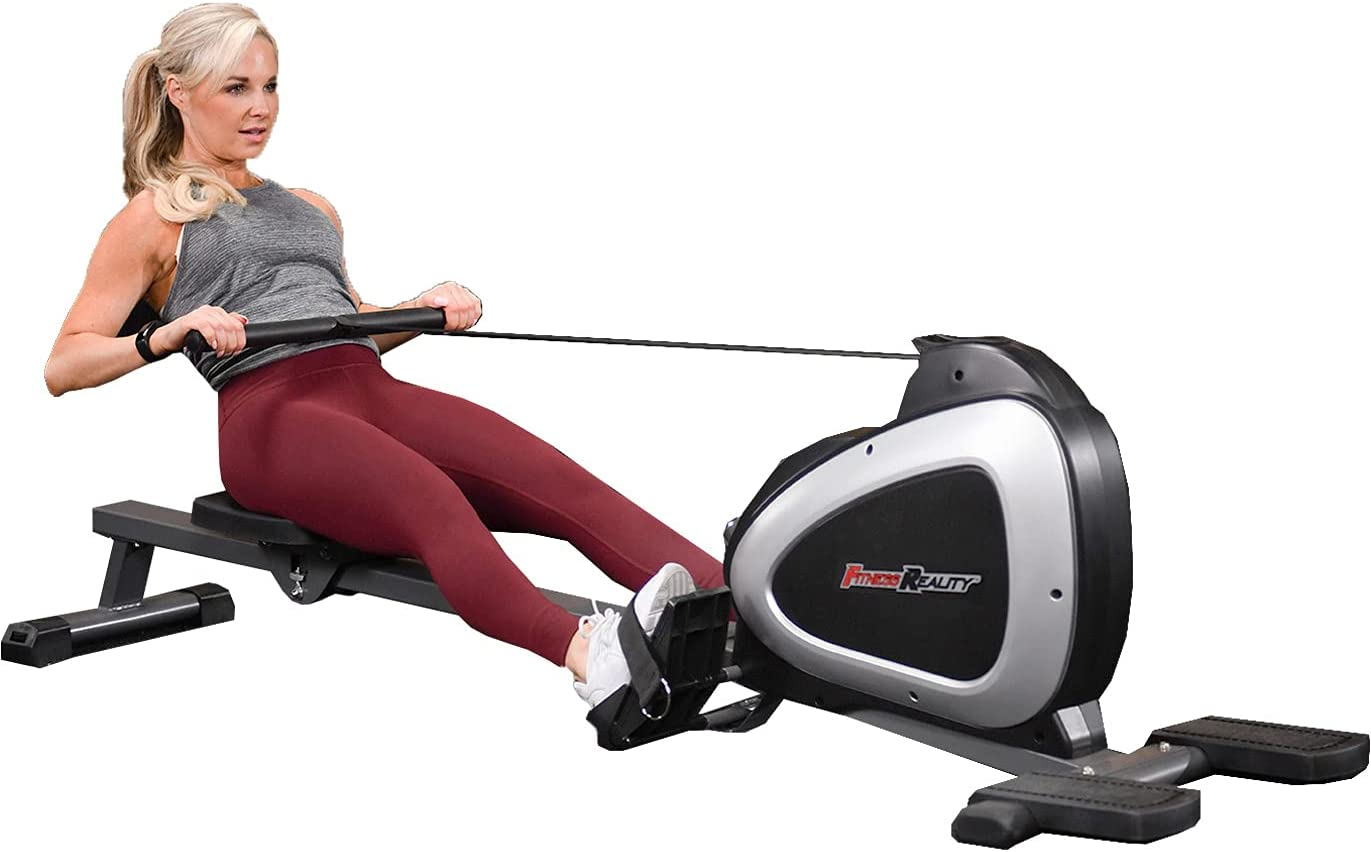 Fitness Reality 1000 Ruderzugmaschine im Einsatz