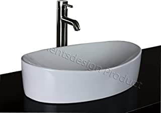 brushed nickel vessel sink