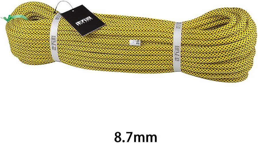 TLMYDD Corde d 'Escalade Souple résistante à l ' Usure adaptée au Camping Escalade Cordes (Taille   10M)