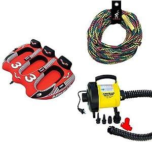 Airhead 3 Rider Viper Rope and Pump Bundle