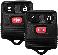 YITAMOTOR 2 Key Fob Compatible for 1998-2016 Ford F150 F250 F350 Keyless Entry Remote 3 Button Replacement for CWTWB1U331, CWTWB1U212, CWTWB1U345, GQ43VT11T