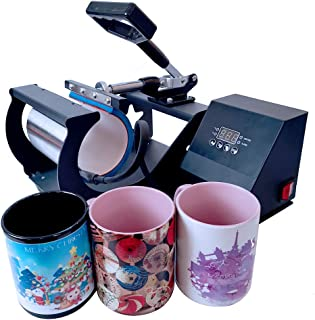 BetterSub Mug Heat Press, Heat Press Machine Cup Heat Transfer Sublimation 11OZ 12OZ 15OZ 17OZ