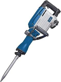 Scheppach 5908201901 Demolition Chisel Hammer AB1600 + Spetsig Chisel platt mejsel metallfodral/D-grepphandtag/kompakt/vib...