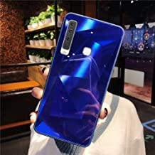 URFEDA Compatibel met Samsung Galaxy A9 2018 telefoonhoes Diamond Glitter Case met spiegeleffect Sparkly Bling TPU Silicon...