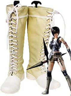 Final Fantasy VII FF7 Yuffie Kisaragi Cosplay Shoes Boots Custom Made