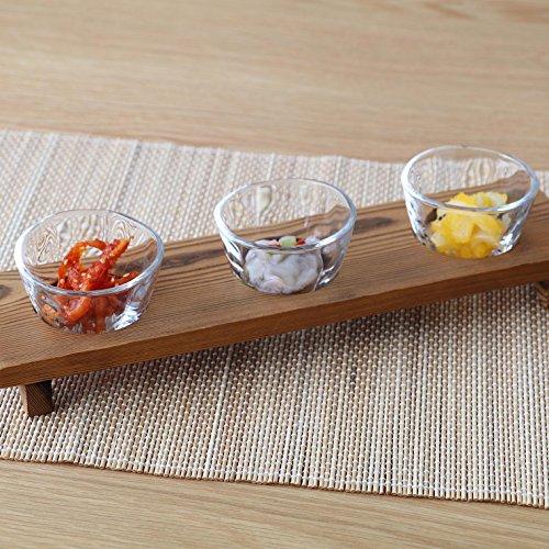 アデリアガラス小鉢セットクリア90mlてびねり三味三昧日本製食器洗浄機対応S-5408