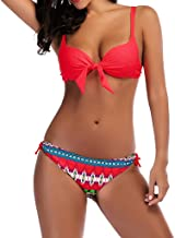 BBsmile Bikinis Mujer 2019 Push up con Relleno - Brasileño Moda Sexy Impresión Traje de Baño Ropa de Playa